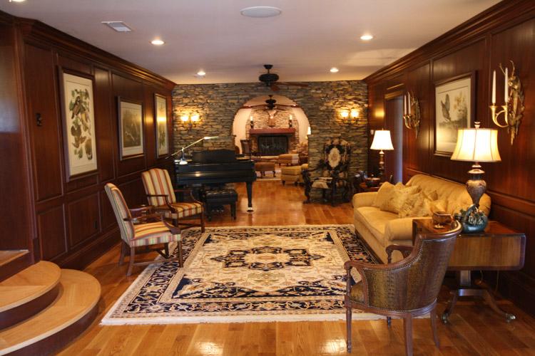 interior designer in anderson sc basement
